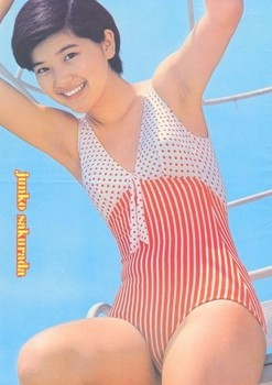 桜田淳子の水着の高画質な画像5